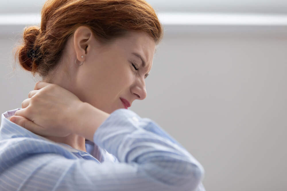 Fibromyalgia showing the concept of Blog