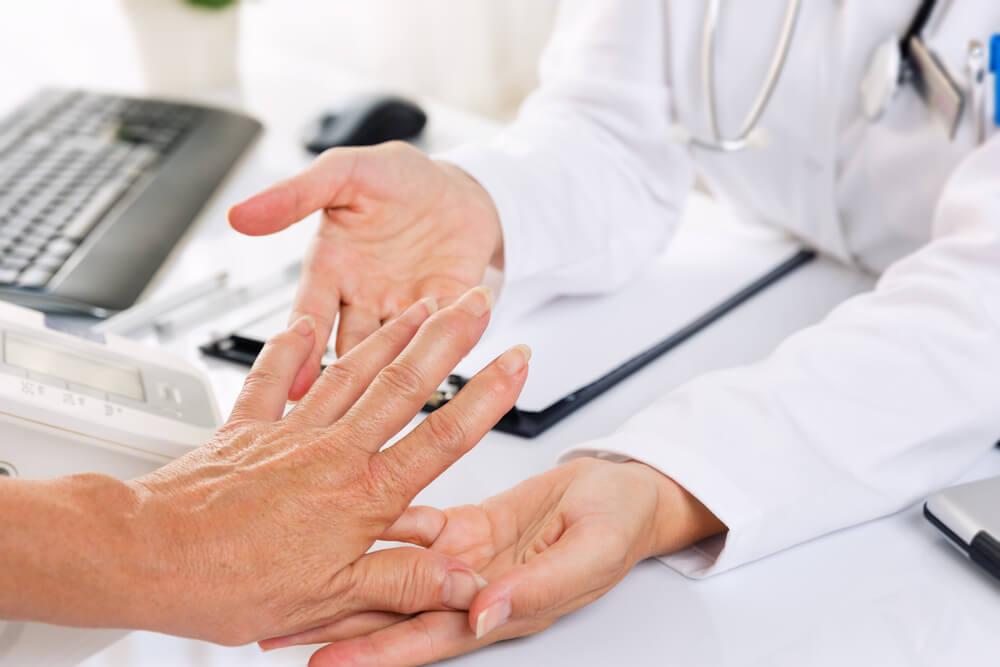 Rheumatoid arthritis showing the concept of Blog